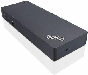 Lenovo ThinkPad Thunderbolt 3 135W Docking Station   USB-C DP HDMI - REFURBISHED