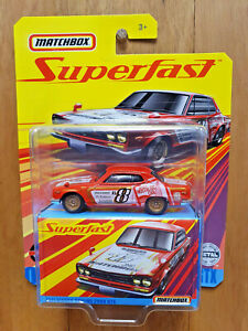 MATCHBOX SUPERFAST 2020 (Mix E) ~ #09 1971 NISSAN SKYLINE 2000 GTX (*)