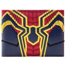 NEW OFFICIAL MARVEL AVENGERS SPIDER-MAN INFINITY WAR SUIT ID CARD BI-FOLD WALLET