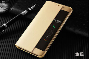 Official Smart View genuine leather Flip Case Cover For Huawei P20 Pro Mate30 P3