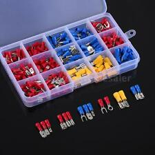 280PCS Assorted Crimp Spade Terminal Insulated Electrical Wire Cable Connector