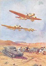 C5561) WW ETIOPIA, SQUADRIGLIA DI SAVOIA MARCHETTI S. 81 IN AZIONE. VG.