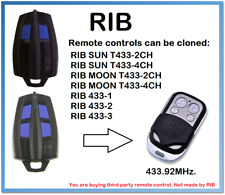 RIB SUN T433-2CH, RIB SUN T433-4CH Remote Control Duplicator 433.92MHz.