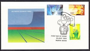 Australia 1984 Olympic Games First Day Cover Perth APM15074
