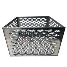 Charcoal basket fire box Oklahoma Joe longhorn highland BBQ Smoker STAINLESS