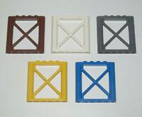 Lego ® Mur Cloison évidé 1X6X5 Lattice Wall Panel Choose Color ref 64448 NEW