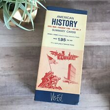 Vis-Ed American History Summary Cards Set #2 Civil War to Present Time