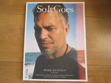 So It Goes Magazine October 2016 Mark Ruffalo,Millie Bobby Brown,Abbey Lee New.