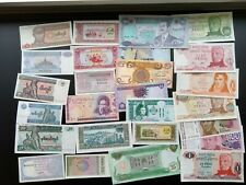 150 Different World Banknotes 55 Countries 1909 Oldest Instant Collection US&Can