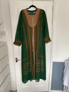 Dubai Abaya Women Long Maxi Dress Kaftan Islamic Jalabiya Robe Turkish Gown Arab