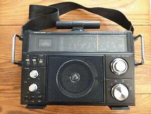 Vtg Realistic SW-100 Multi-Band Receiver AM/FM/CB/Air/WX/VHF Radio Shack Works!