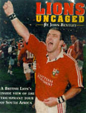 The Lions Uncaged: Diary of the South African Tour, New, Bentley, John Book