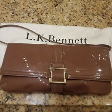 LK BENNETT Leather Handbag.Winter Rose.