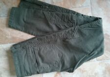 Diesel Jeans,Size 25 / W26,L28/,Green,Mid Rise,Ankle Zip,Slim Fit,Stretch,Women'