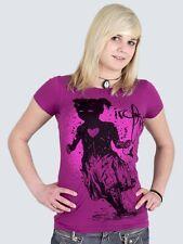 """Iron Fist T-Shirt """"Fallout pink"""" Größen: XS - M (32-42) NEU !"""
