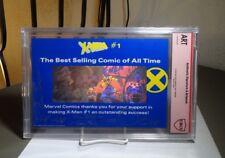 X-Men CBCS Authentic Signature & Artwork SILVER Walter & L. SIMONSON Marvel 1992