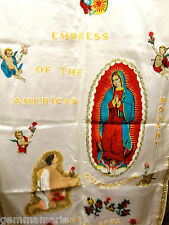 Catholic Holy Altar Church Banner Our Lady Guadalupe Empress America Tapestry 2