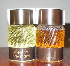 DUNHILL Eletric pre-Shave 50 ml-+ After Shave 50 ml Rarissimi Vintage kit