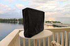 "Weatherproof Stronghold Accessories Outdoor TV Cover. Fits TVs up to 38"". Black"