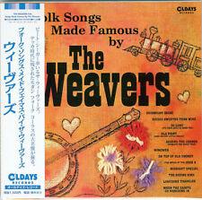 WEAVERS-FOLK SONGS MADE FAMOUS BY THE WEAVERS-JAPAN MINI LP CD BONUS TRACK C94