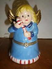 Mr Christmas Angel Music Box Candy Canes