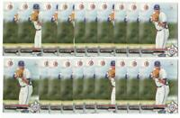 x20 NATE PEARSON ALL 2017 Bowman Draft 119 Rookie Card lot/set Toronto Blue Jays