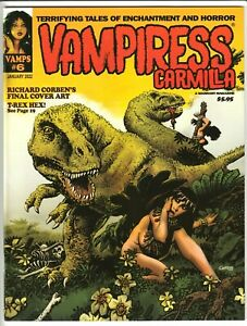 VAMPIRESS CARMILLA MAGAZINE #6 JAN 2022 NM 9.4 UNREAD WARRANT RICHARD CORBEN