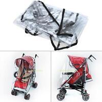Universal Regenschutz Regenverdeck Regenplane Regenhaube Für Kinderwagen Buggy