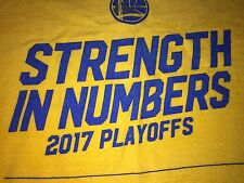 Rally Rag Towel Strength in Numbers Golden State Warriors Spurs 5/16/17 New SGA