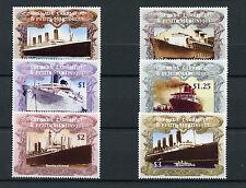 Grenada Grenadines 2004 MNH Ocean Liners 6v Set Ships Boats Titanic Stamps