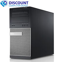 Dell Optiplex 990 MT Computer PC Quad Core i7 3.4GHz 16GB 2TB HD Windows 10 Pro