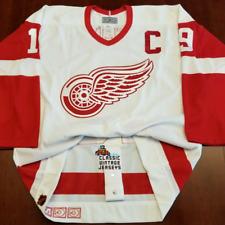 Steve Yzerman Vintage Detroit Red Wings CCM Authentic Jersey