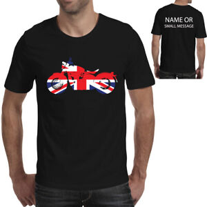 Bonneville Bobber T Shirt Union Jack