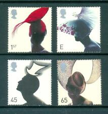 GB 2001 Fashion Hats set. Mint MNH. One postage for multiple buys.