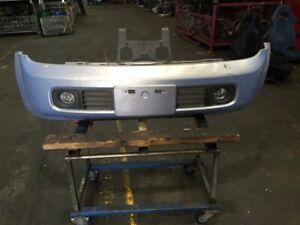 Nissan Cube front bumper bar, hood, front nets
