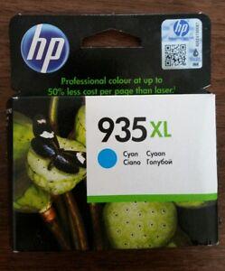 Original HP 935 XL Cyan Ink Cartridge Boxed - 2019
