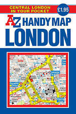 Handy Map of Central London (Street Maps & Atlases),Geographers A-Z Map Company,