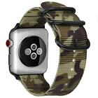 For Apple Watch Series 6 SE 44mm iWatch Woven Nylon Bands Sport Strap Bracelet