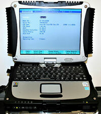 Panasonic Toughbook CF-19 Mk.2 Core 2 Duo 1.06Ghz 120GB PORTÁTIL Pantalla Tactil