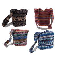 Thai Hobo Crossbody Bag Shoulder Bag Messenger Bags Hippie Boho Sling Purse