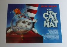 The Cat In The Hat 2003 Original UK Mini Quad Cinema Poster