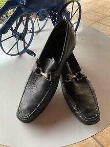 Salvatore Ferragamo Men Slip On Loafers Size 11.5