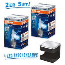 OSRAM D4S 35W P32d-5 Cool Blue INTENSE 2st.+ Cuby LED Taschenlampe