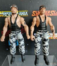 WWE WWF Mattel Elite Legends The Bushwackers Wrestling Figures