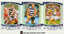 2011 AFL Teamcoach Trading Cards Prize Card Team Set Geelong (3)