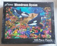 Jigsaw Puzzle-Wondrous Ocean (100 Pieces). New and Sealed. Smoke Free Home.