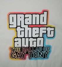Ballad Gay Tony Grand Theft Auto Video Game Promo WHITE T-Shirt NOS Unused Sz MD