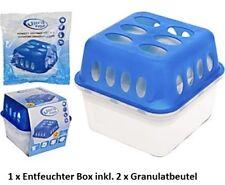 Luftentfeuchter Set Box mit 2x400g Granulat Raumentfeuchter Entfeuchter Trockner