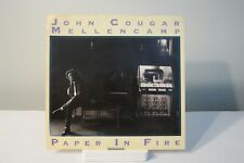 45 RECORD - JOHN COUGAR  - PAPER IN FIRE         PICTURE SLEEVE ONLY