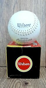 Wilson Softball A9136 Vintage In Box Made in USA